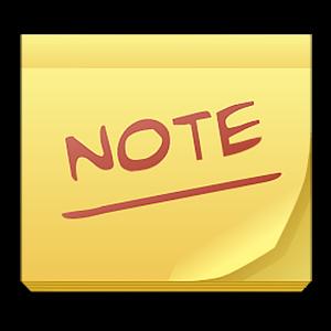 Иконка Обзор программ для заметок на Андроид