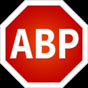 Иконка Adblock Plus для Андроид