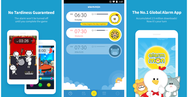 Скриншоты AlarmMon