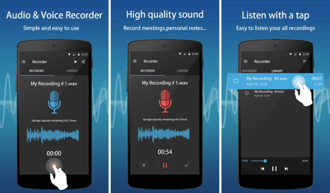 screenshot Easy Sound Recorder