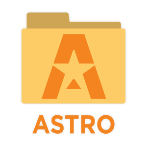 icon ASTRO Cloud File Manager