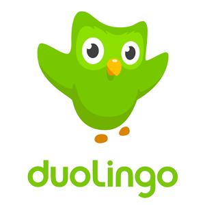 Иконка Duolingo - теперь учить языки можно и на Андроид