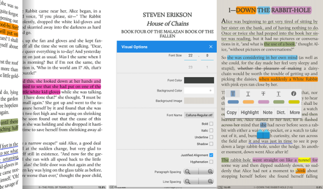 screenshot Moon+Reader