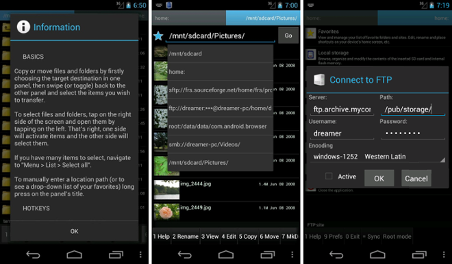 screenshot Ghost Commander