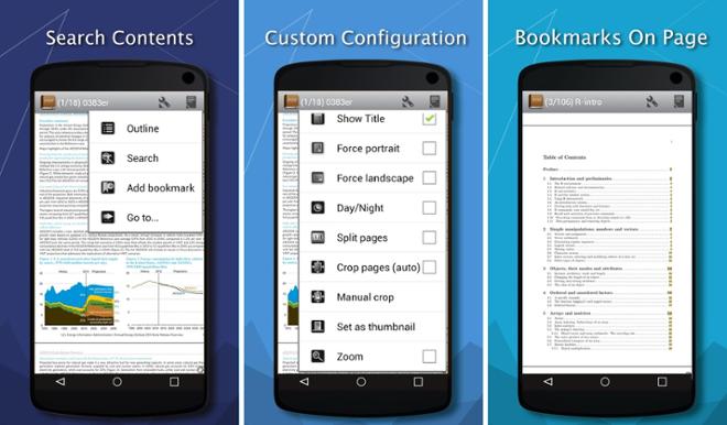 screenshot PDF Reader