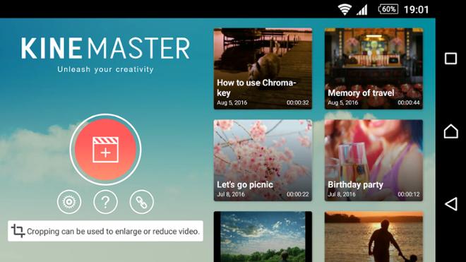 screenshot KineMaster