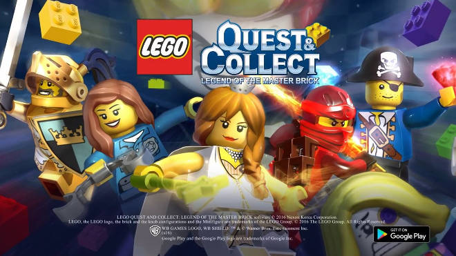 screenshot LEGO Quest and Collect