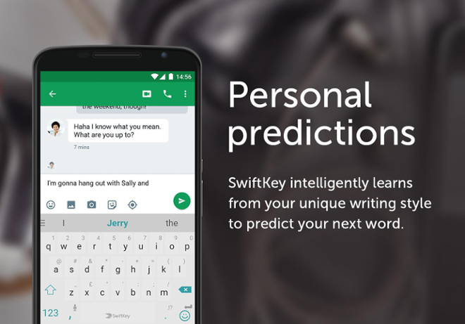screenshot SwiftKey