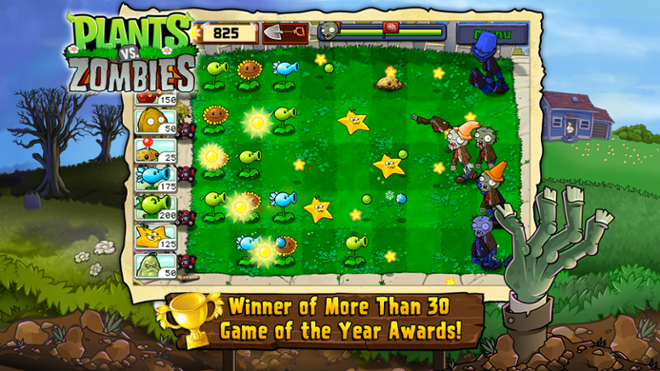 screenshot Plants Vs Zombies