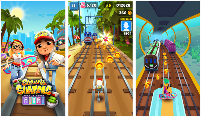 screenshot Subwey Surfers