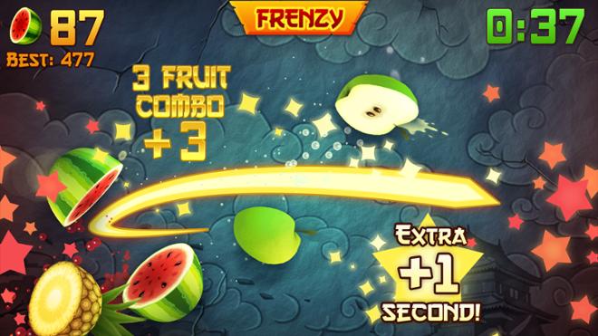 screenshot Fruit ninja