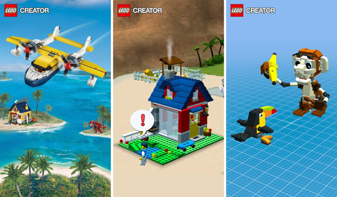 screenshot LEGO Creator Islands