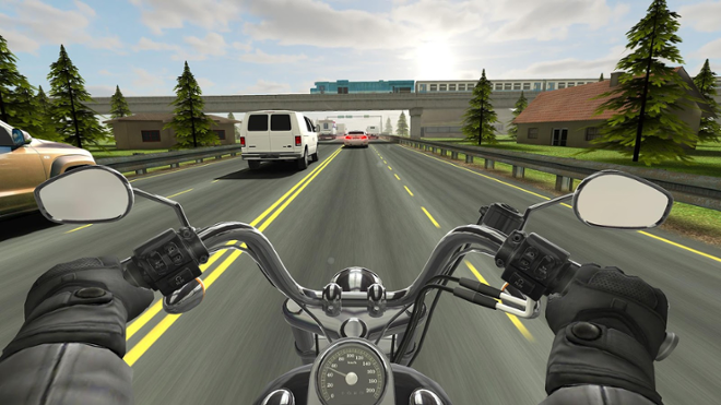 screenshot Traffic Rider