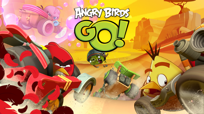 screenshot Angry Birds Go