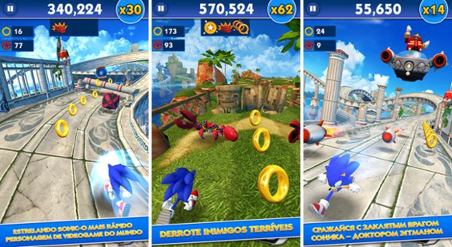 screenshot Sonic Dash