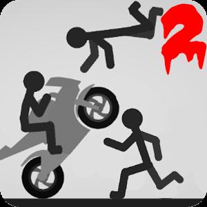 Иконка Stickman dismount 2