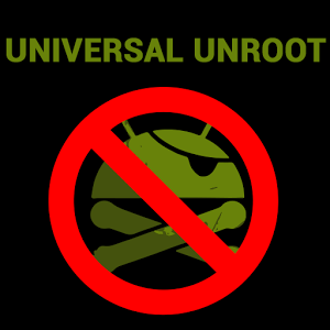 icon Universal Unroot