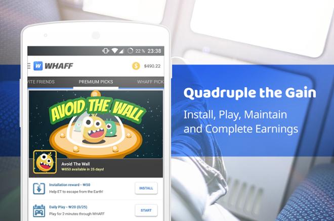 screenshot WHAFF Rewards