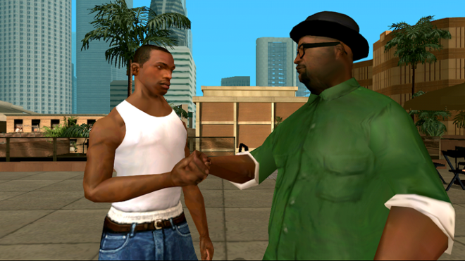 screenshot GTA San Andreas