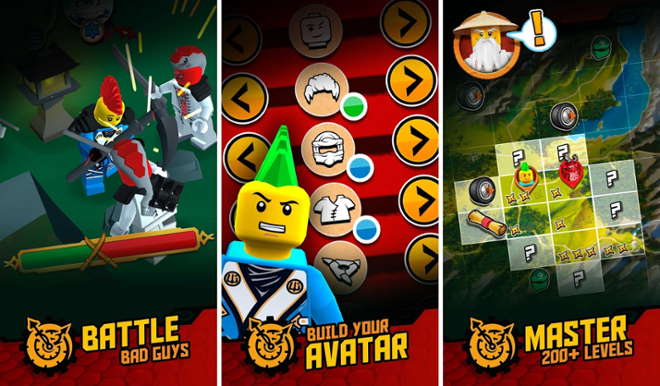 screenshot LEGO Ninjago
