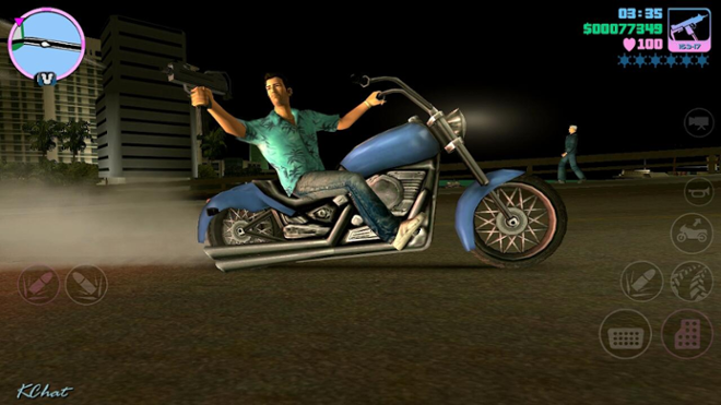 screenshot GTA Vice City