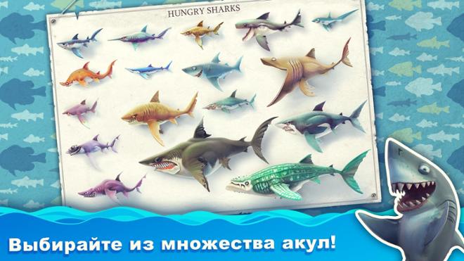 screenshot Hungry shark world