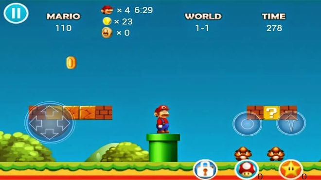 screenshot Mario