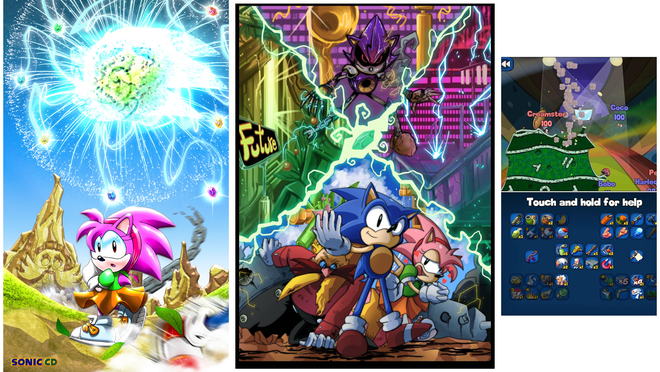 screenshot Sonic CD