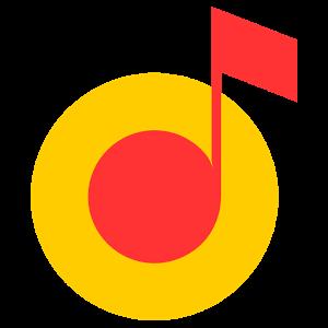 Иконка Яндекс Музыка - плеер для Андроид