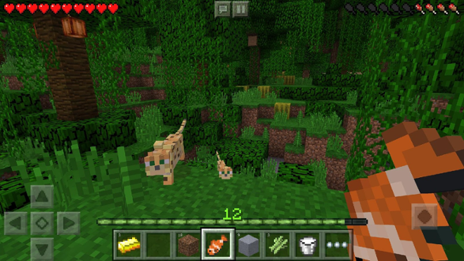 screenshot Майнкрафт