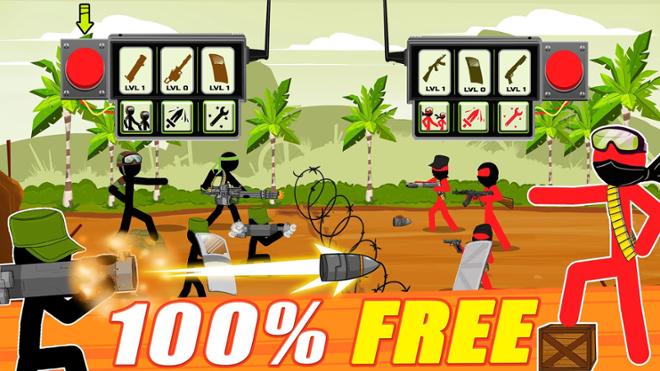 screenshot Stickman army: Team battle