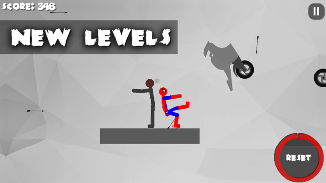 screenshot Stickman Dismount 3 Heroes