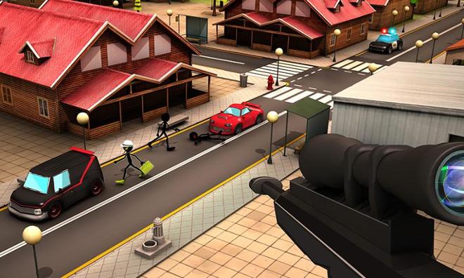 screenshot Stickman sniper squad 2017