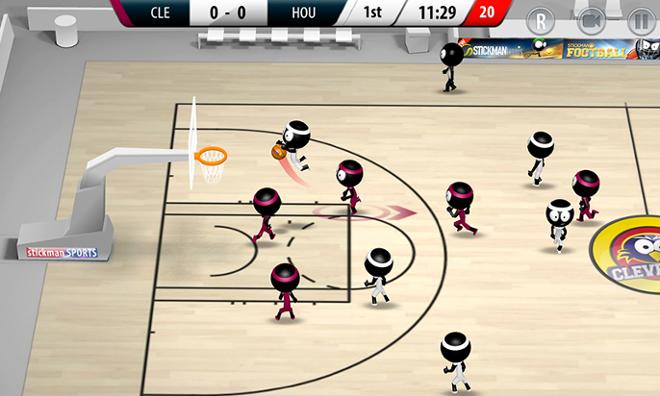 screenshot Stickman basketball 2017