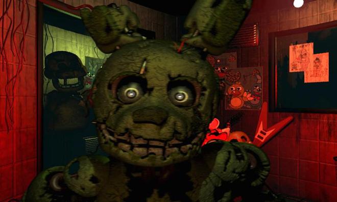 screenshot Five nights at Freddy 3