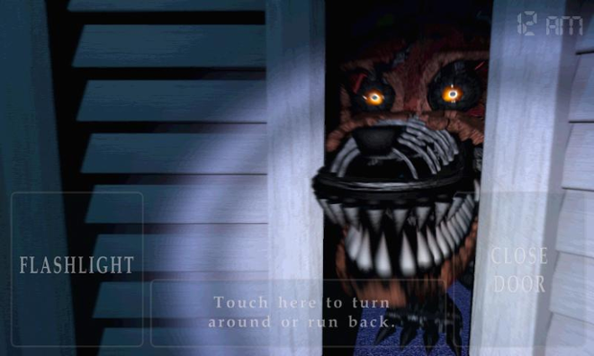 screenshot Five nights at Freddy 4
