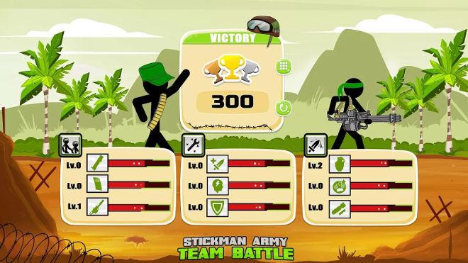 screenshot One Stickman army