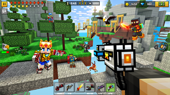 screenshot Pixel Gun 3d