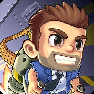 Иконка Игра-раннер Jetpack Joyride для Андроид