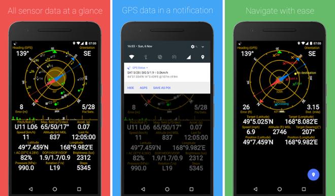screenshot GPS status toolbox