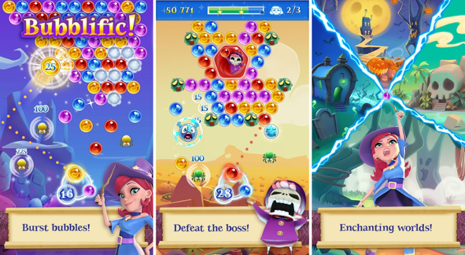 screenshot Bubble Witch Saga 2