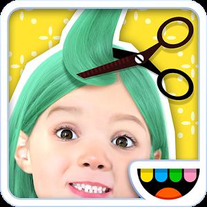 Иконка Обзор серии игр Toca Hair Salon для Андроид