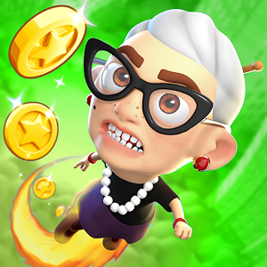 icon Angry Gran up up and away jump