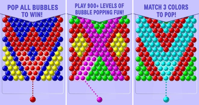 screenshot Bubble Shooter