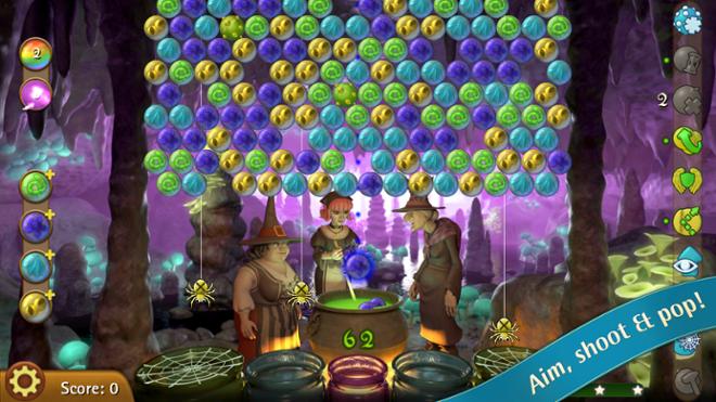 screenshot ubble Witch 3 Saga