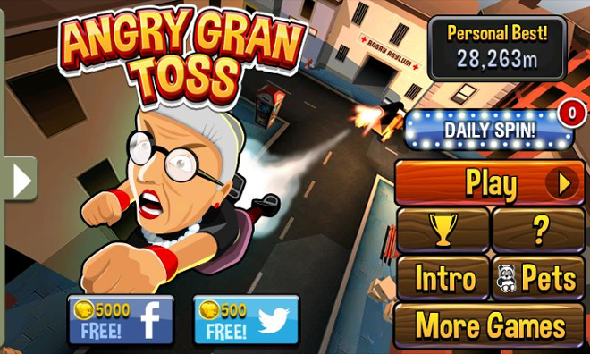 screenshot Angry Gran Toss