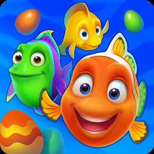 Иконка Скачать игру Fishdom для Андроид