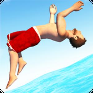 Иконка Скачайте аркаду Flip Diving для Андроид и насла...