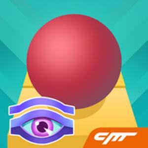 Иконка Перемещаем шарик в игре Rolling Sky (Перекати н...