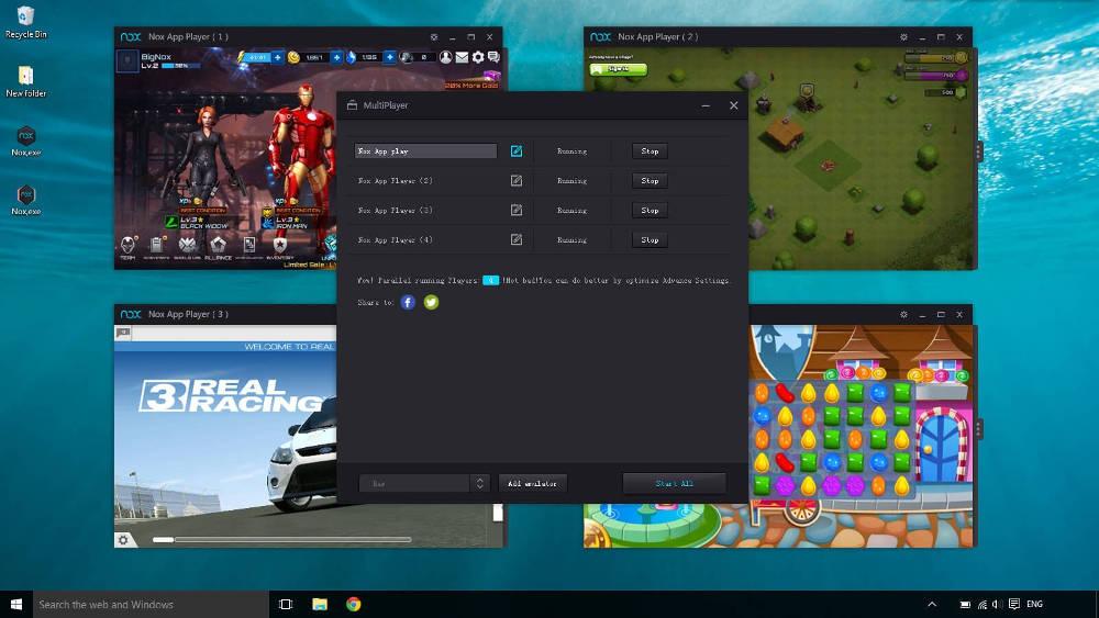 Иконка Как обновить Nox App Player